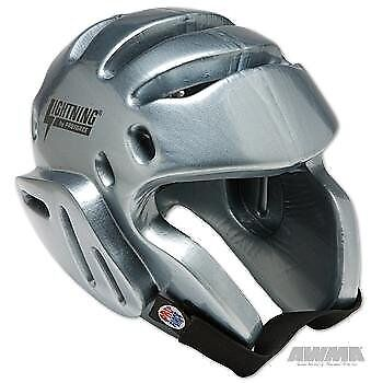 ProForce Lightning Sparring Headgear - Silver - X-Large