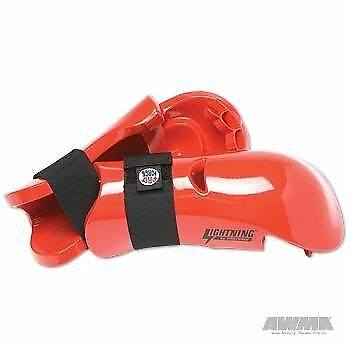ProForce Lightning Punches Karate Sparring Gloves - Red