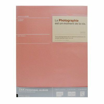 Georgette and Kei Pitatto album A4 size pastel pink cre