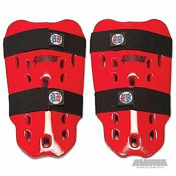 ProForce Lightning Shin Guards - Red - Child / Small