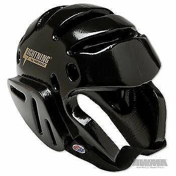 ProForce Lightning Sparring Headgear - Black - Small