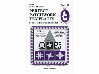 Marti Michell 8019 ,Perfect Patchwork Template Set, Pea