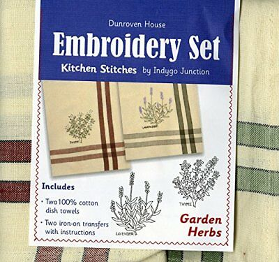 Dunroven House Garden Herbs Kitchen Stitches Embroidery