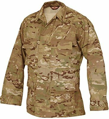 Tru-Spec Nylon-Cotton Ripstop BDU Jacket, Multicam, Lar
