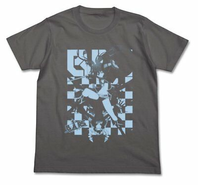 Black Rock Shooter BRS & DMT shirt medium gray Size: M