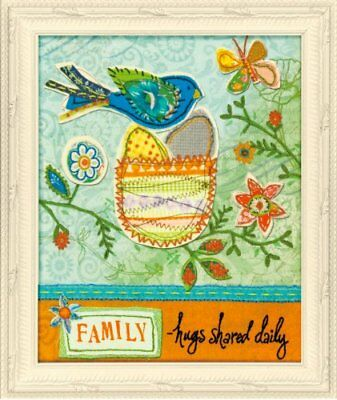Dimensions Crafts Family Hugs Embroidery and Applique K