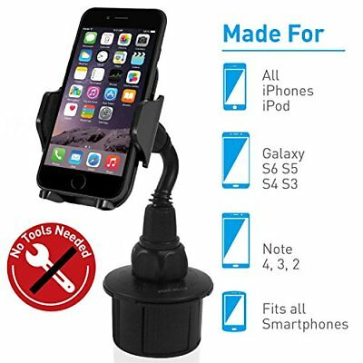 Macally Adjustable Automobile Cup Holder Phone Mount fo