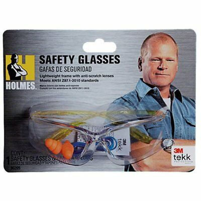 3M TEKK Protection Holmes Workwear Safety Glasses, Yell