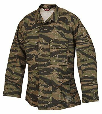 Tru-Spec BDU Coat CP Twill Vietnam Tiger Stripe XL-Reg
