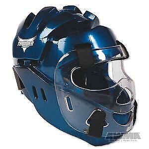 ProForce Thunder Full Headgear w/ Face Shield - Blue -