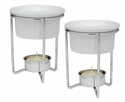 HIC Brands that Cook White Ceramic Butter Warmers with