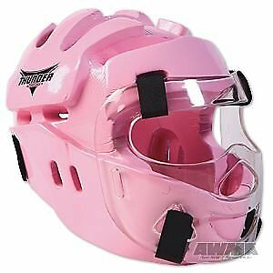 ProForce Thunder Full Headgear w/ Face Shield - Pink -