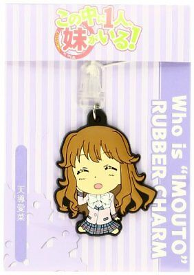 1 person, my sister Aina guide heaven! Rubber charm are