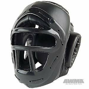ProForce Headguard w/ Face Cage - Black - Medium