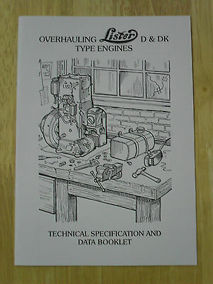 Overhauling Lister D & DK  Type Engines