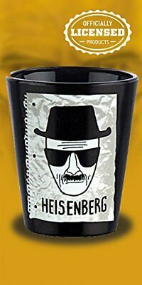 Breaking Bad Sketch Shot Glass with Heisenberg sketched