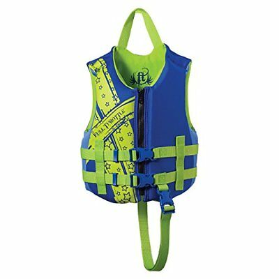 Full Throttle Rapid-Dry Child Vest, Blue