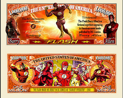 The Flash - TV Series Million Dollar Novelty Money