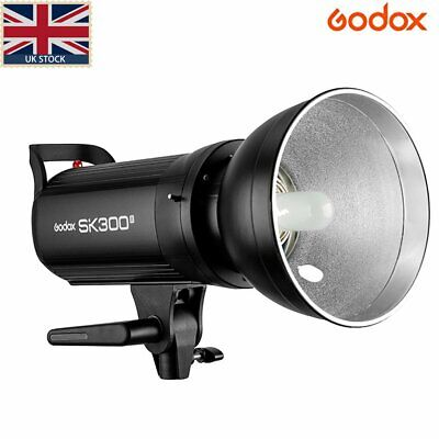 UK Stock Godox SK300II 2.4G 300w Photography Studio Flash Strobe Lamp Light Head