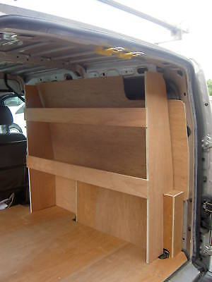 Ford Transit Connect LWB Plywood Racking,Shelving, Storage,Pro Liners