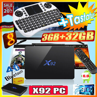 3+32GB H96 Pro Plus Android7.1 912 OctaCore 2.4+5.8G WiFi 3D 4K TV BOX+Keyboard