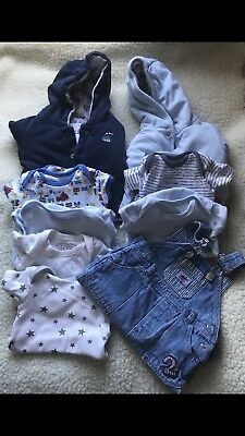 Pre-owned/ Boys Clothes/vests /jackets/ Up To 9lb/4.1kg Bundle B3