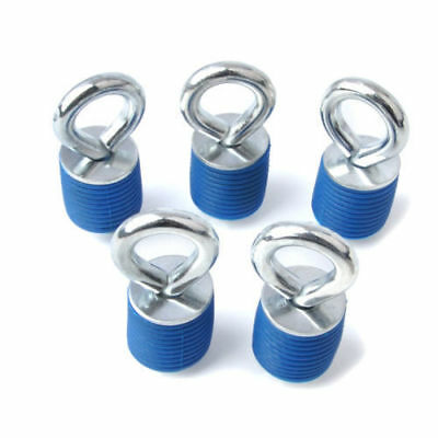 Blue Lock Ride ATV Tie Down Anchors for Polaris Sportsman RZR and Ace - Set of 5