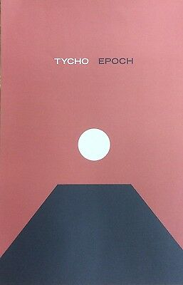 "TYCHO Epoch Original Unused Promotional Poster 11""x17"" iso50 ghostly"