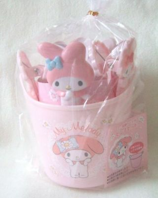 Sanrio My Melody  Pinch for cloth laundry NEW with mini backet