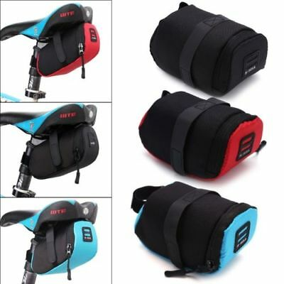 Waterproof Bike Bicycle Storage Saddle Outdoor Bag Seat Cycling Tail Rear Pouch