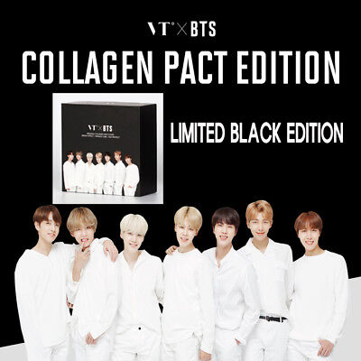 VT×BTS COLLAGEN PACT EDITION [BLACK EDITION] BTS PACT(No.21) +STICKER+POSTER