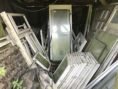 Joblot of PVC / Wooden Doors & Windows Etc - Free To Collector