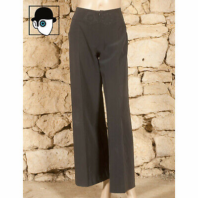 'marithe Et Francois Girbaud' Printed Wide Legged Trousers - Uk 12 - (Z)