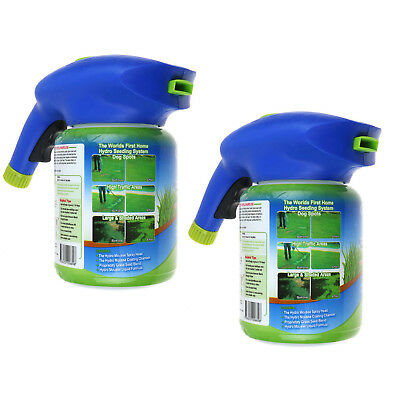 2pcs Hydro Mousse Liquid Lawn Rescue Kit Covers Up To 100 Square Ft Grass Grower