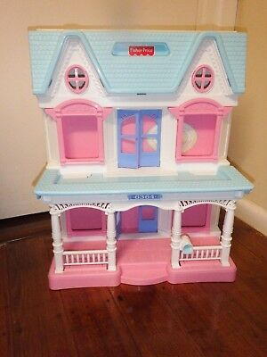Fisher Price Loving Family Dolls House Some Furniture Good Condition