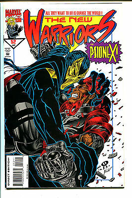 THE NEW WARRIORS, Issue #52, (Marvel 1990), NM