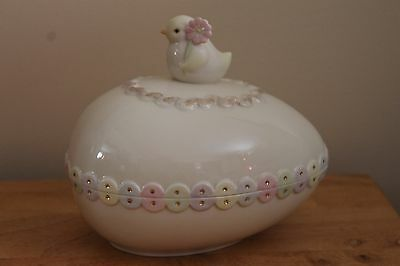 Lenox Chick Covered Candy Dish NIB for Easter