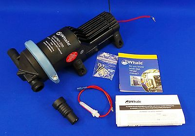 Whale Gulper 220 Shower & Waste Water Pump 12v - New - WS6
