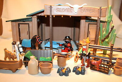 PLAYMOBIL Silver Ranch Western