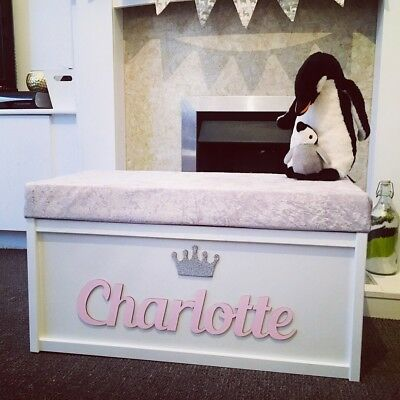 Personalised Handcrafted Toy Box