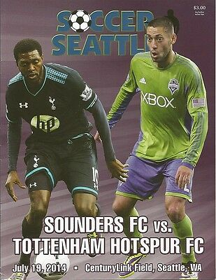 SEATTLE SOUNDERS v TOTTENHAM HOTSPUR 19/7/2014 Friendly