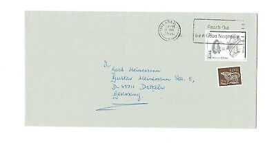 Ireland 1998 - Cover Dublin To Germany With  'good Neigbour' Slogan