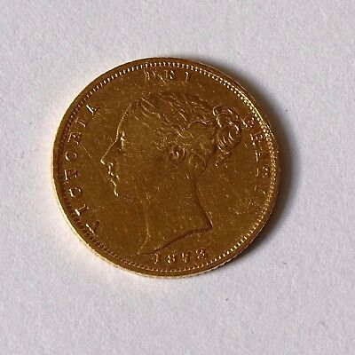 1873 Half Sovereign Gold Coin