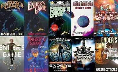 17 audiobooks - The Enders Game Series by Orson Scott Card Mp3 dvd Unabridged  C