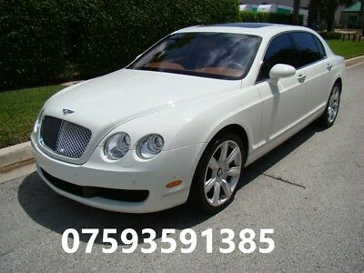 Bentley Flying Spur Wedding hire and Chauffeur Service £85p/h