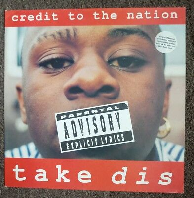 CREDIT TO THE NATION: Take Dis (1994 LP) TPLP44H Call It What You Want