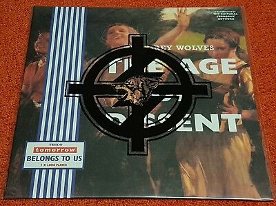 GREY WOLVES - Age Of Dissent - 1995 Tesco Org RARE Original NOISE Industrial LP