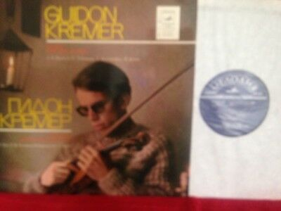 CM 03573-4 MELODIYA Stereon Guidon Kremer Music For Solo Violin