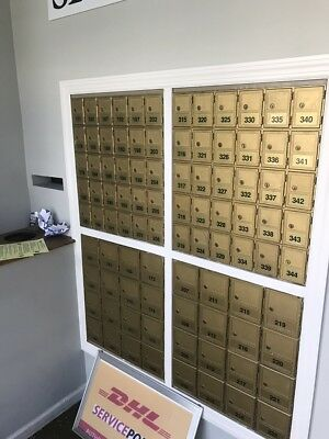 Large Commercial Mailboxes (Gold) 22 x 15 x 25.5 in Private Use
