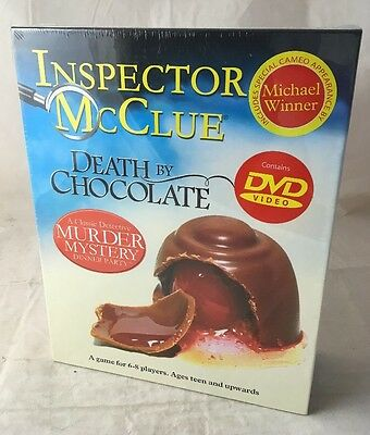 Inspector McClue Death By Chocolate - Murder Mystery Dinner Party Game